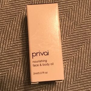 New! Privia face and body oil- 2 for $10
